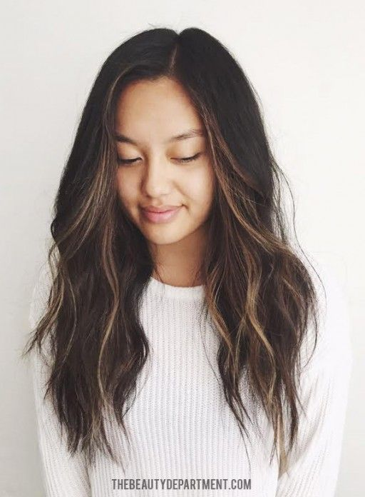 Best 25 Subtle Balayage Brunette Ideas On Pinterest