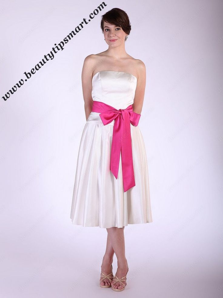 How To Make A Bow Sash For A Dress With Ribbon At Home