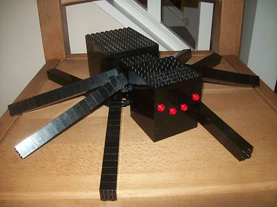 Lego Minecraft Custom Built Spider with Instructions | eBay