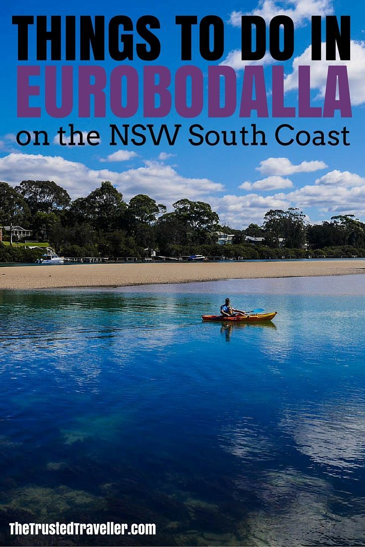 Kayaking at Mossy Point - Things to Do in Eurobodalla on the NSW South Coast - The Trusted Traveller #Eurobodalla #NSW #NSWSouthCoast #Australia #Travel