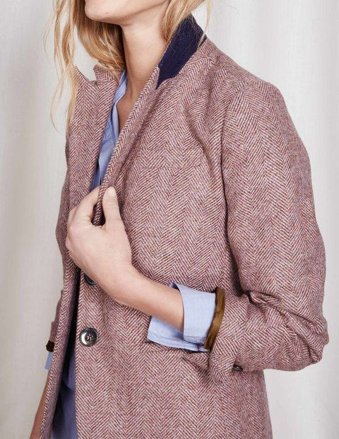 Elizabeth British Tweed Blazer