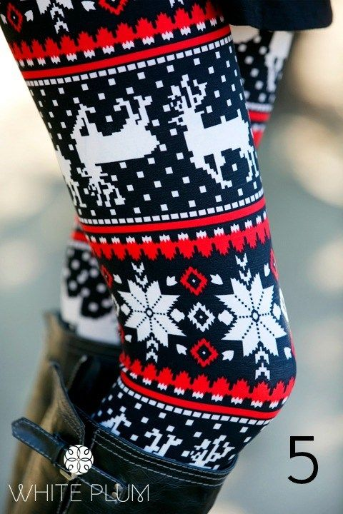 Christmas leggings. Obviously not this site nor plus size. Just if u can find some Christmas leggings that are cute.