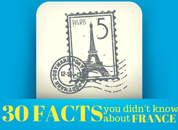 From having the world's oldest ever living human to being the world's most visited country, read about the most interesting facts about France.