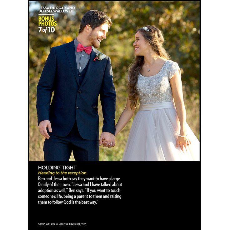 Jessa Duggar And Ben Seewald Wedding Photos Duggars