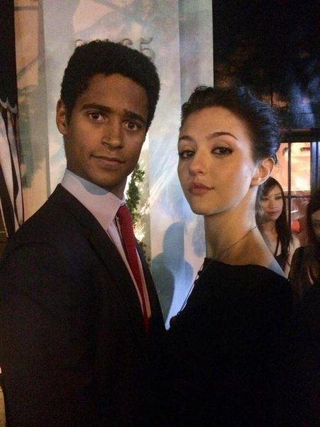Alfred Enoch & Katie Findlay from How to Get Away With Murder