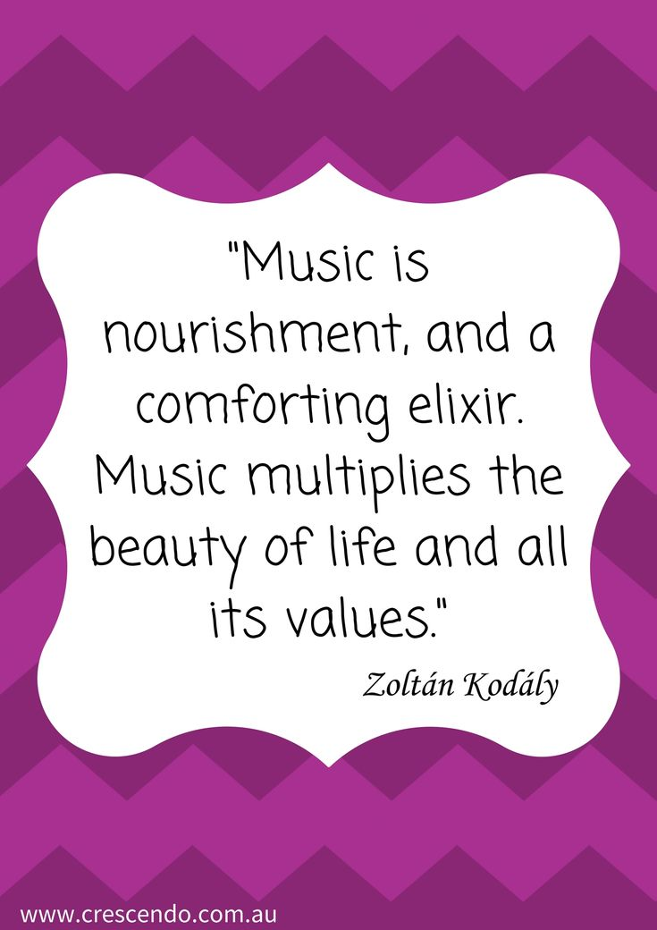 Why do we teach music?   Kodaly quotes.