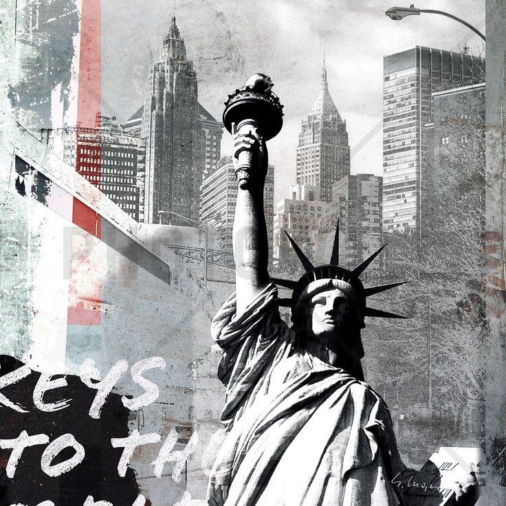 Statue of Liberty - Wall Mural & Photo Wallpaper - Photowall