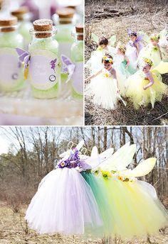 tulle fairy costumes