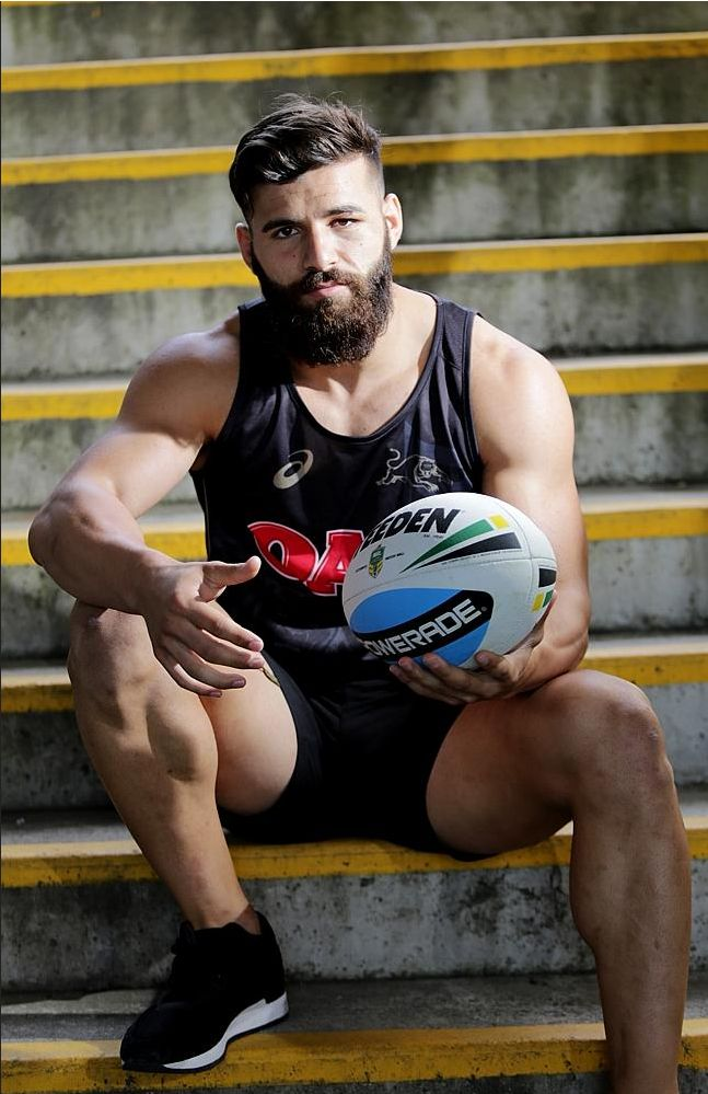 Josh Mansour of the Penrith Panthers (AUS)