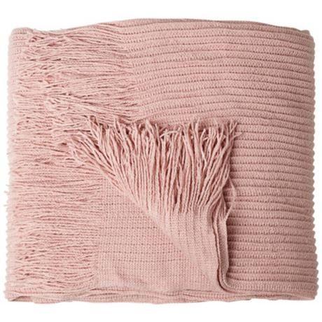 I love blush and I love throw blankets