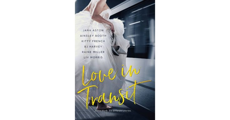 Love in Transit is an anthology written by the authors Jana Aston, Ainsley Booth, Kitty French, BJ Harvey, Raine Miller and Liv Morris .  All the stories have in common the subway and they are so lovely. My favorite is Ainsley Booth's St. George Station, Toby and Cara are a lovely couple and the story is so moving! They way they begin as friends and are slowly falling in love and it is powerful.  I loved all the stories they all have lovely couples and engaging stories.