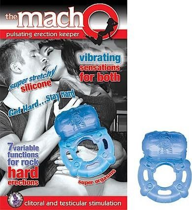 Mach Pulsating Erection Keeper Blue Super stretchy silicone vibrating cock ring7 functionsPhthalate freeBattery included  126,26 kr http://sextoysclub.no/couples-vibrating-cock-rings/7999-mach-pulsating-erection-keeper-blue.html