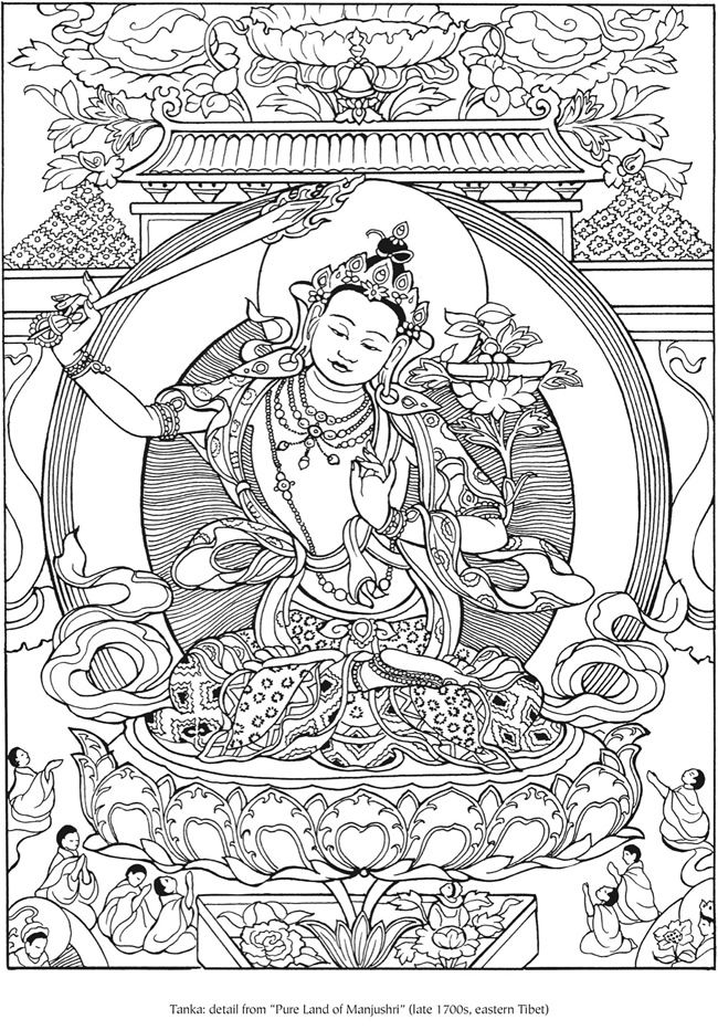 17 best images about my coloring pages on pinterest for Buddha coloring pages