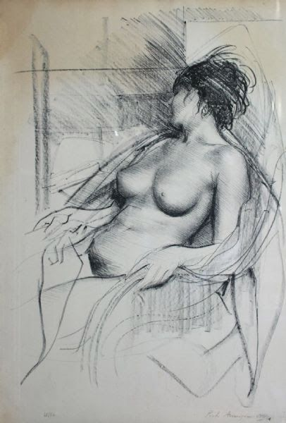 annigoni study of a nude