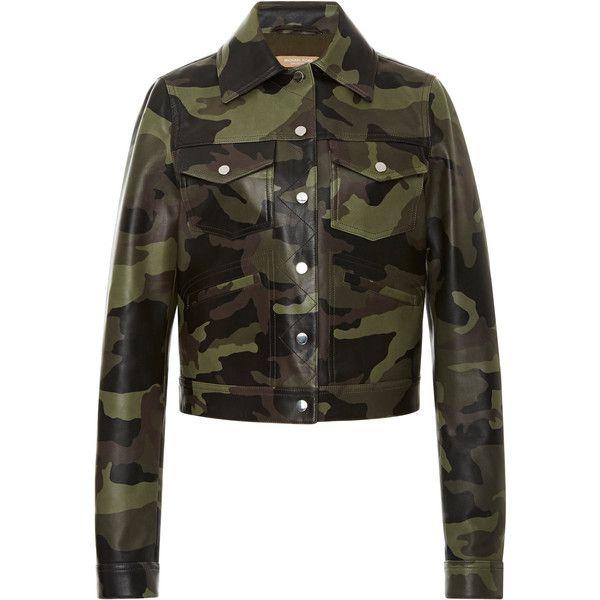 Camo Bomber Jacket | Moda Operandi ($3,250) ❤ liked on Polyvore featuring outerwear, jackets, camo jackets, blouson jacket, camo bomber jacket, flight jackets and flap jacket