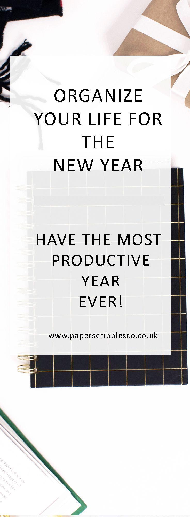 2018 Planners | Planner Organization | New Year Goals | New Year Resolutions | Organization | Productivity | 2018 Goals | Goal Setting | Goal Planner