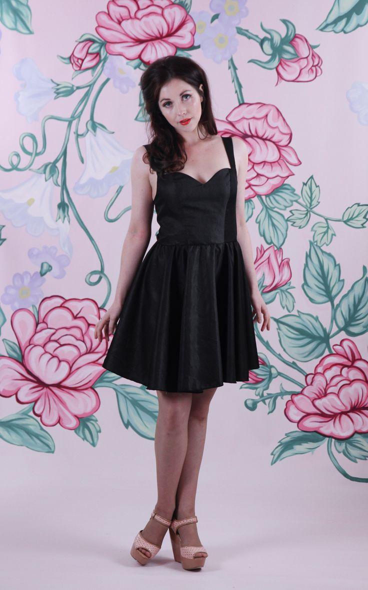 Harriett Falvey - Glasshouse Backless Dress - Black