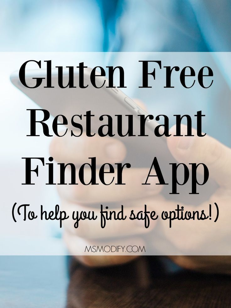 With this Gluten Free Restaurant Finder App, you no longer need to stress about which restaurants are safe to eat at.