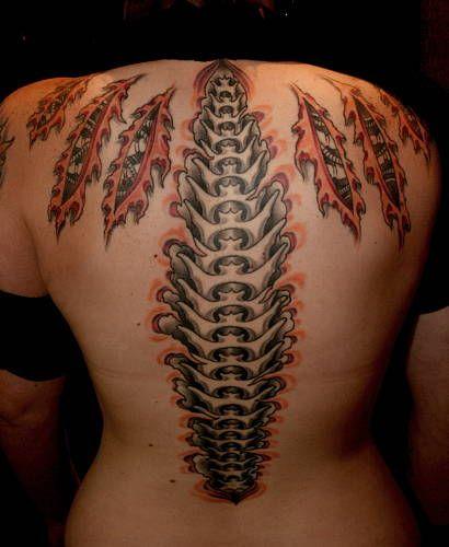 biomechanical spine drawings - photo #15