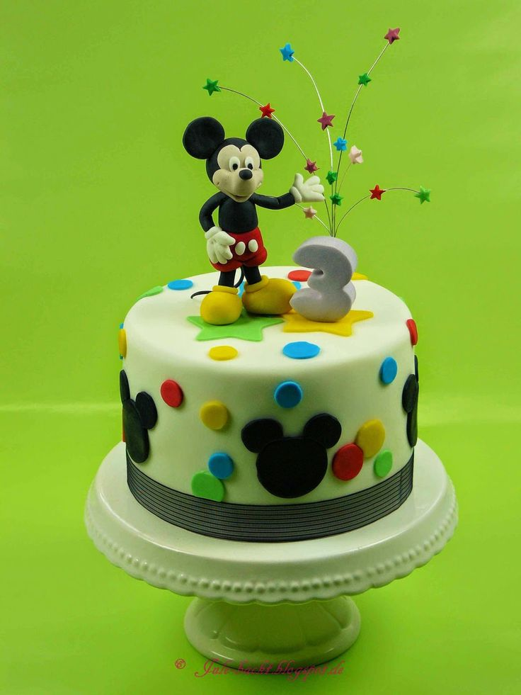 Mickey Mouse Cake                                                                                                                                                                                 Mehr