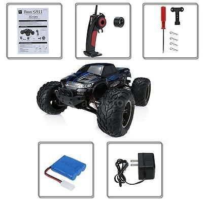 ﹩47.90. Original GPTOYS Foxx S911 Monster Truck 1/12 RWD High Speed Off Road RC Car B4D0    Required Assembly - Ready to Go/RTR/RTF (All included), Type - Monster Truck 1/12 RWD High Speed Off-Road RC Car, ISBN - Does not apply, Transmitter - 2.4GHz 4CH forward/backward, Scale - 1:12, Max speed - 45km/h, Power - 9.6V/800mAh Li-Po battery, Fuel Type - Electric, UPC - 708311808307