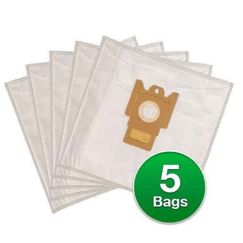 Replacement Type FJM Allergen Poly Wrapper Vacuum Bags For Miele Polaris Galaxy Series S4212