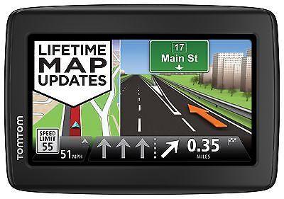 TomTom VIA 1515TM 5 Bluetooth GPS Navigator Lifetime Traffic & Maps Free Ship!