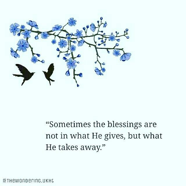#blessings #give #take away