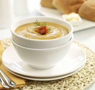 Kumara, Coconut & Lentil Soup