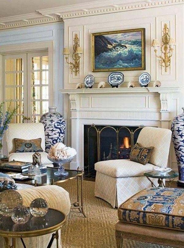 Pretty Traditional Living Room