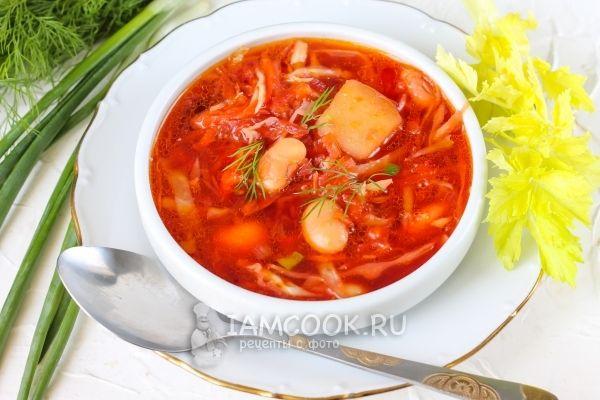 суп борщ рецепт приготовления фото