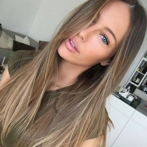 Brown hair with natural highlights gallery hair extension hair light brown hair dye over blonde highlights the best hair 2017 light brown hair color over pmusecretfo Choice Image