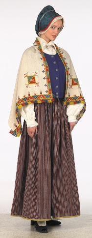 Latvian National Costumes