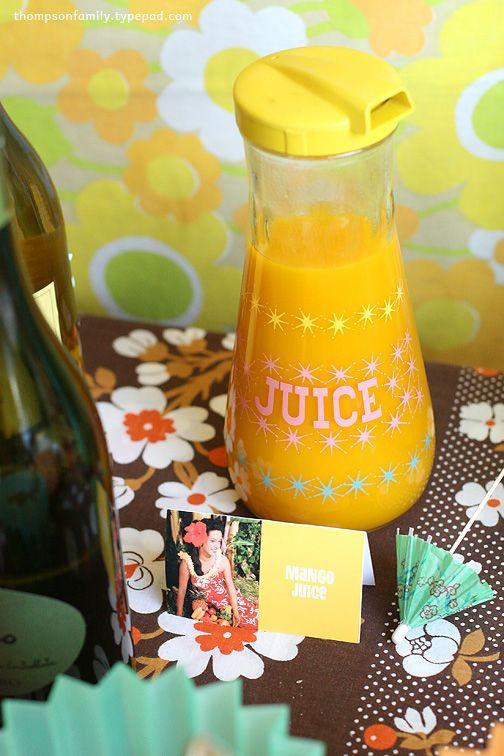 Love #juice #retro #kitchenware