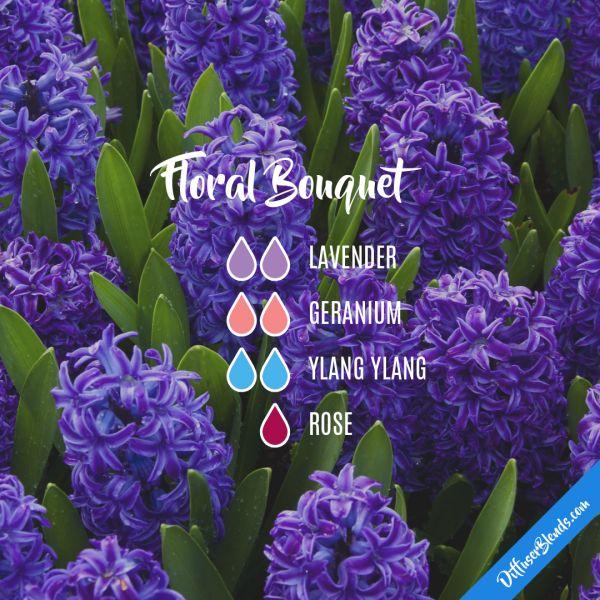 Floral Bouquet  - Essential Oil Diffuser Blend