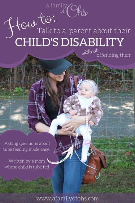 How to talk to a parent whose child has a disability, without offending them I recently did a quick survey through my Instagram stories, super scientific, I know. In my stories I asked parents who had children who used feeding tubes to share with me what they hated people to say when asking about their… Continue reading Talking to parents of tube fed children