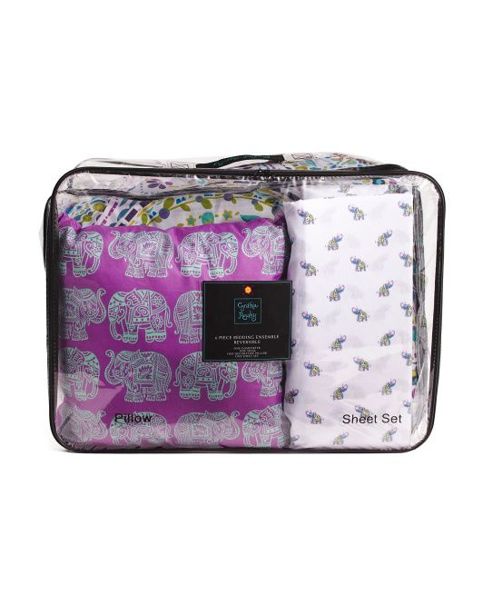 Happy Elephant Comforter Set