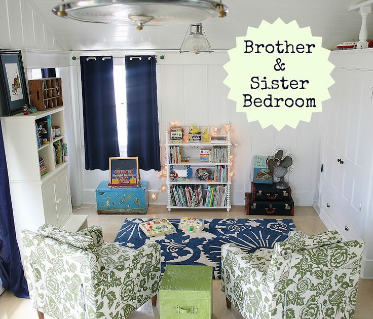 brother and sister shared bedroom