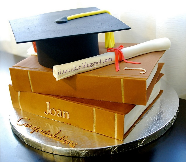 Book Cake / Graduation Flickr Photo Sharing