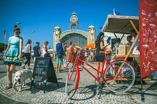There was Prague Ice Cream Festival at Vystaviste Holesovice last Sunday