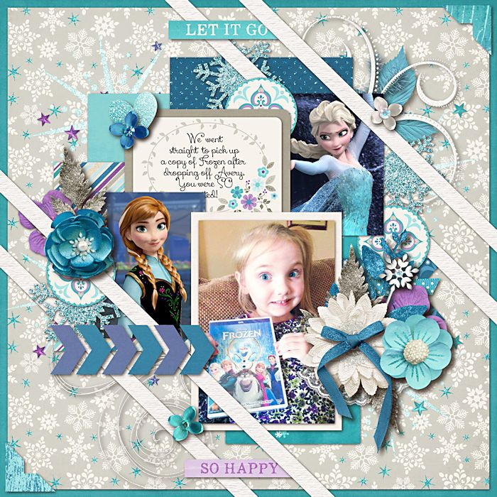 Frozen - Scrapbook.com                                                                                                                                                      More