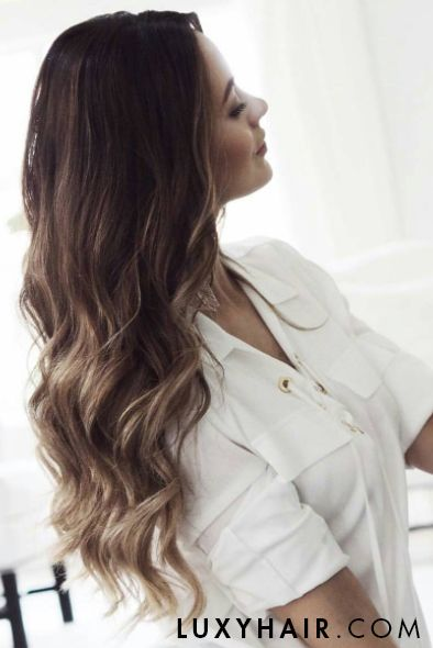 742 best luxy hair extensions images on pinterest beautiful ombre waves on nelyakhryukin using ombre blonde luxy hair extensions pmusecretfo Gallery
