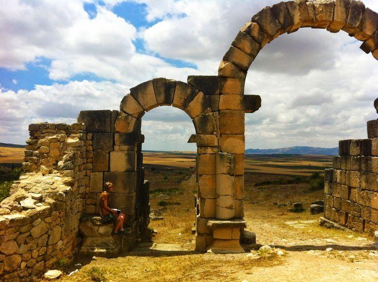 roman remains, volubilis, north morocco. wardululu alsaffar photography