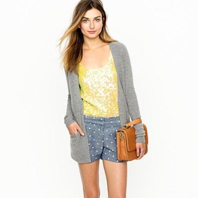 polka dot shorts -- want