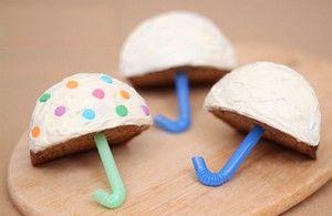Cupcake paraplu
