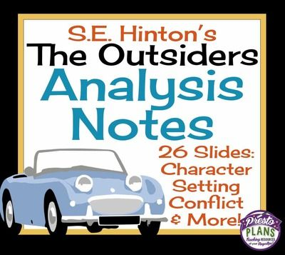 an analysis of the book the outsiders by s e hinton Plot summary - let studymodecom get you up to speed on key information and facts on the outsiders by se hinton.