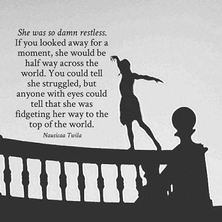 Restless quote