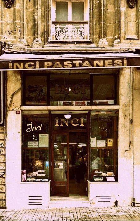 İstanbul, Beyoğlu, İnci Pastanesi