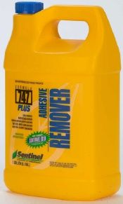 Use to remove carpet glue from concrete.  Try the boiling water method first.