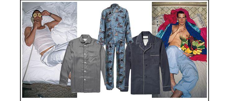 Shopping insomniaque des plus belles chemises pyjama de la saison pour fendre les nuits d'été avec allure.